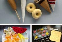 flanel kue dan makanan