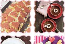 valentine foods