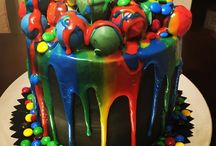Paintball cakes