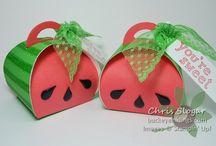 Curvy Keepsake Boxes