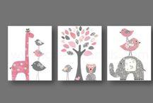 Nursery/ Kids Room Ideas