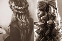 beautiful braids and up do's