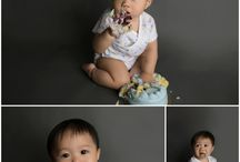 Houston Cake Smash Portrait Session
