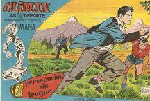 Olimán, As del deporte / Publicación deportiva de los años 60 del siglo XX