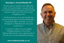Daily Social Media Tips / Martin`s Daily #SocialMedia Tips that are very useful for any type of business using social media.