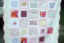 Babyclothes quilt