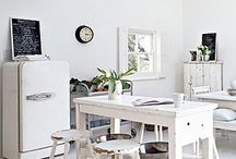 white after labor day is ok. / Feeling inspired to break this rule, here's a showcase some of the creamy and lovely white interiors from our remodeling portfolio and all over the world of Pinterest!