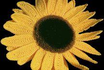 fiori uncinetto  decorazioni