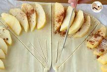 Folhado de maçã