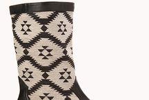 My Kilim boots