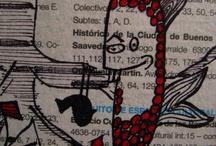 Cuadros, Collage-Pintura-Dibujo