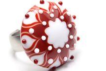 Lampwork Bead - Handgemachte Glasperlen / Selbst hergestellte Glasperlen