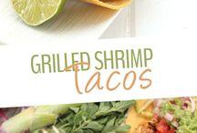 tacos shrimp   chicken fish