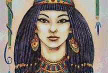 Výšivka Egypt