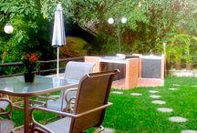 Jardines en Caracas / Espectaculares jardines y áreas verdes en distintas propiedades que forman parte de nuestro portafolio de venta