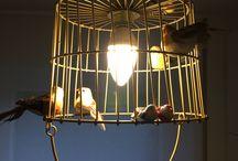 La Voliere pendant lamp, do it yourself