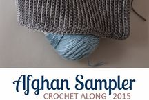 Crochet sampler blocks