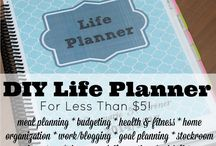 Planner Ideas / Great ideas and supplies on how to plan/organise your day.