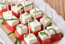 Appetizers & Finger Foods / Appetizers for everyone - hot, cold, finger foods!