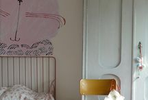 *VINTAGE STYLE KIDS ROOMS / Kids rooms styled with or inspired by beautiful vintage furniture and furnishings. Shabby chic through to dressed up old school glamour.