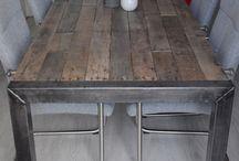 Tafels van sloophout