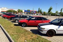 Corolla E9 Liftback fotózás