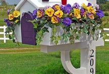 Dekoráció - postaláda (Mailboxes)