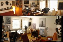 Studio Space / Some inspiration for my future home-studio space / by David Smit