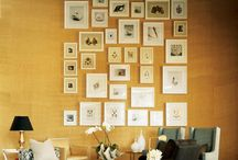 ~wall art installation~ / by Eliza - SilhouettemyPet