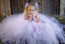 Tutus and flowers    flower girl / Amazing designed flower girl gowns from ivie and letty.