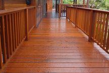 Hardwood Flooring Decking