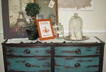 painted furniture / by Sandy Warwick