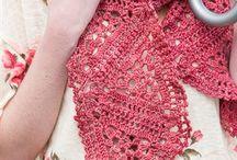 Cachecol crochet