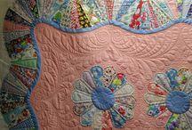 Dresden, plate / Visit Fleur de Lis Quilts at www.fleurdelisquilts.blogspot.com #fleurdelisquilts, #marymarcottequilts