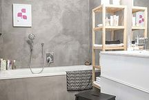 Interior | Grey Bathroom