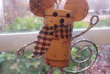 Cork creations / Cork arts and crafts