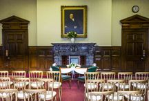 Committee Rooms / Chose from our two smaller rooms, perfect for small, intimate ceremonies. Both rooms offer beautiful wood panelling and stunning decor, holding 40-50 guests.