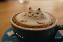 Milk art & coffee