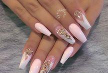 ➖ Coffin & Ballerina Nails ➖