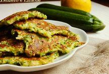 frittelle zucchine e brie