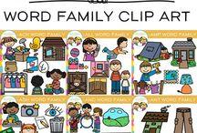 Vowel Clip Art / Vowel clip art
