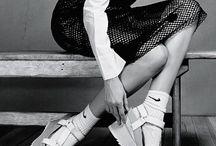 socks and elegant shoes