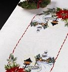 Cross stitch Table clothes 9