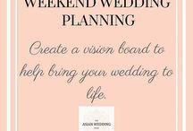 Weekend Wedding Planning