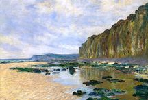 """claude monet / """"my work is better when i am alone and follow my own impressions."""""""