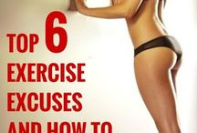 No Excuses! / Fitness ideas that I may actually use!