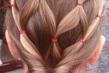 peinados niñas poco pelo
