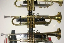 Trumpets stands