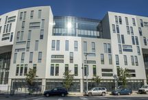 CIA's Uptown Residence Hall / CIA's Uptown Residence Hall is now open! Starting this fall, first-year students live in a brand new residence hall located on Euclid Avenue in the heart of the Uptown development in University Circle, just steps from our campus.  / by Cleveland Institute of Art