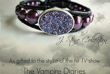 The Vampire diaries bracelet / by Ria Alemina Ginting
